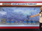 FORECAST: Isolated showers possible