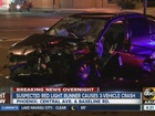 Woman injured in South Phoenix red light crash