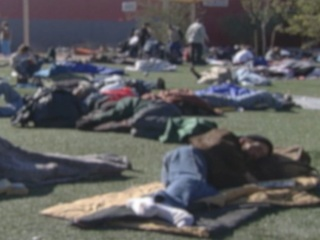 Safety code reduces Tucson homeless shelter beds