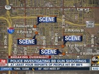 PD: Four shot with BBs along Phoenix streets