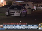 PD: Brothers shot while walking down PHX street