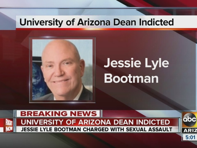 University Of Arizona Pharmacy College Dean Indicted In Sexual - Bootman us map