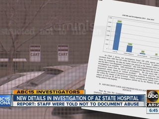 'Troubling' problems found at AZ mental hospital