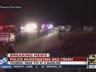 Teens injured in serious crash overnight