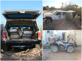 12 arrested in Border Patrol drug bust