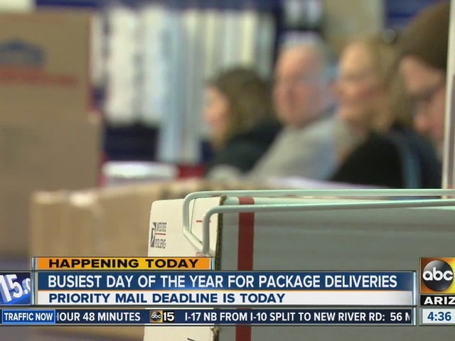 USPS delivers on Sunday ahead of holiday week