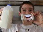Win $12,000 for your milk mustache