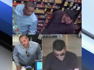 PVPD looking for men in credit card fraud case