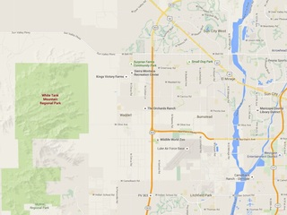 MCSO: Hiker reportedly hurt on White Tank trail