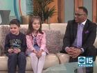 Caring Kid winners: Eli and Ava