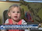 Family raises money for child's heart surgery