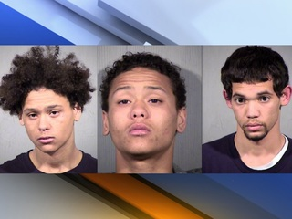 MCSO: Anthem burglary suspects in custody