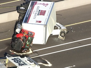 DPS: 1 ejected, 2 hurt in rollover crash on I-10