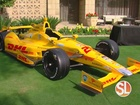 Bid on Indy race car and own racing history