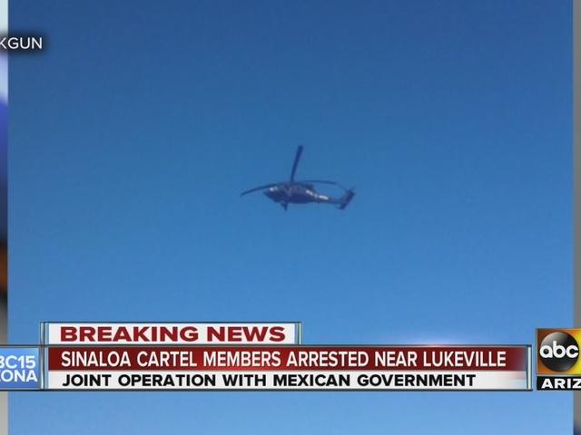 Cross-border sting nets cartel arrests