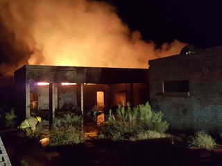 MCSO: Carefree fire being investigated as arson