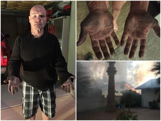 Neighbor rescues woman from Ahwatukee house fire