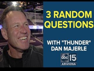 WATCH: 3 random questions with Dan Majerle