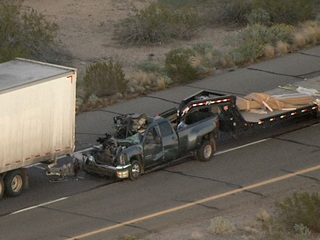 Fatal crash in Tonopah shuts down westbound I-10