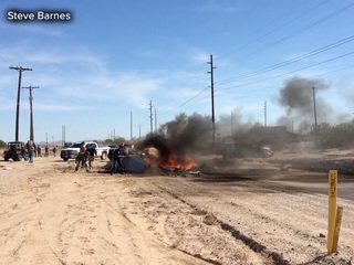 PCSO: 2 killed in Pinal County plane crash