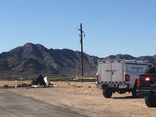 WWII plane crashes near Maricopa, killing 1