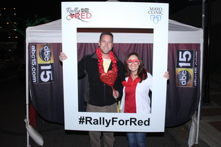 Rally for Red at Glendale Chocolate Affaire