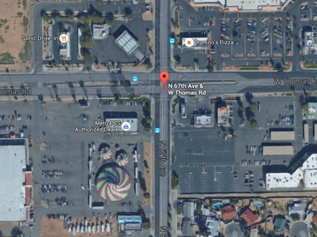 West Phoenix collision at intersection kills man