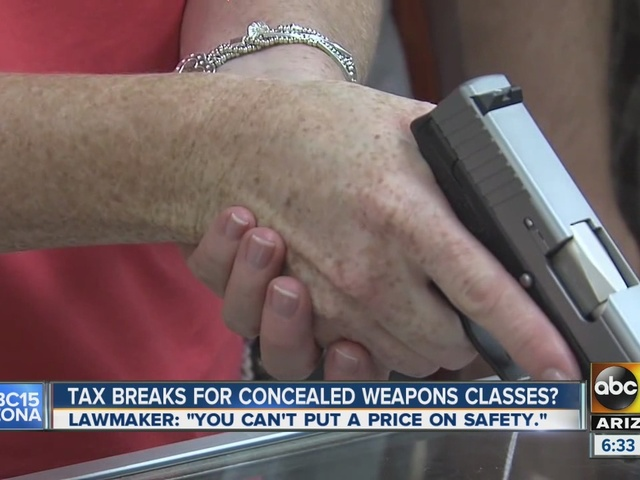 AZ House passes tax credit for concealed carry