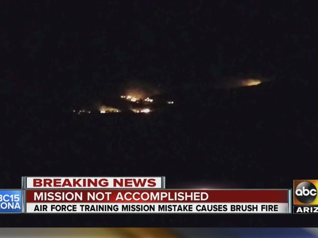Air Force training mission mistake