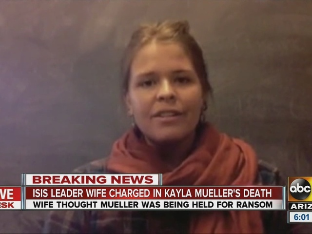 ISIS leader's wife charged in Mueller's death