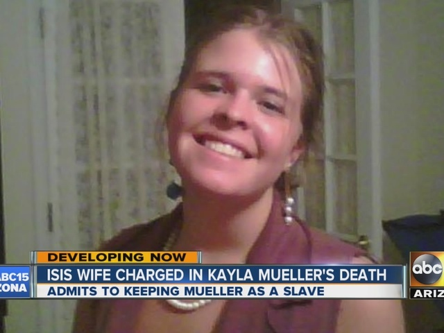 Iraqi woman charged with role in Kayla Mueller's death