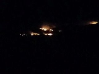 Brush fire in S. AZ grows to 1,400 acres