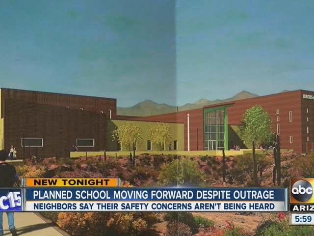 Planned school moving forward despite outrage