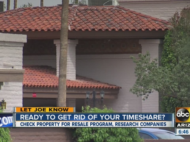 Are you ready to get rid of your timeshare?