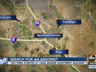 PD looking for Casa Grande arson suspect