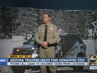 Trooper who stopped LA abduction suspects talks