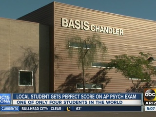 Valley student recieves perfect score on AP exam