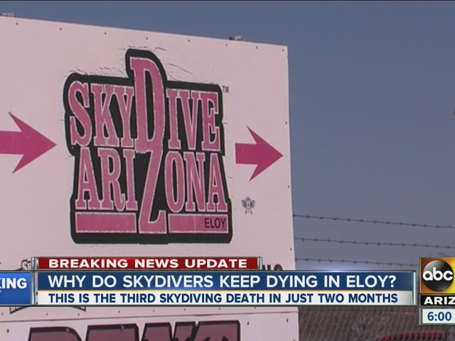 Why do skydivers keep dying in Eloy?