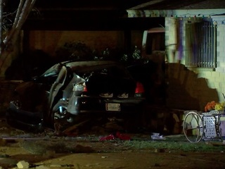 PD: Carjacking leads to crash in Phoenix