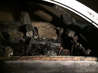 PD: Kingman stolen vehicle set on fire in PHX