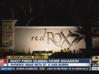 PD: Suspect shot at during PHX home invasion