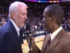 WATCH: Spurs coach reacts to Trump, Sanders wins