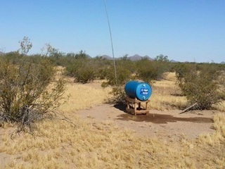 Water stations along Mexico border vandalized