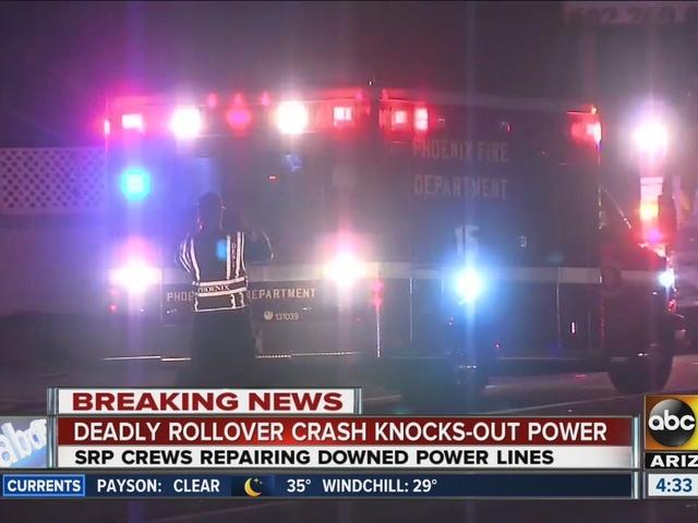 Deadly crash blocks Grand Avenue