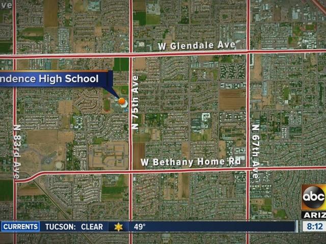 Glendale police on scene of double shooting