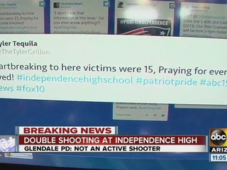 Teens take to social media amid school tragedy