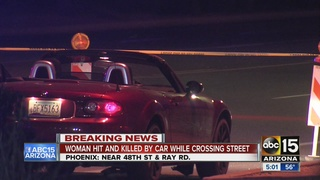 Woman hit, killed near Ahwatukee intersection