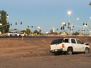 DPS: Two dead in rollover crash along Grand Ave
