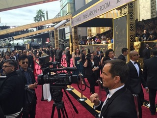 LIVE UPDATES: ABC15 behind-the-scenes at Oscars