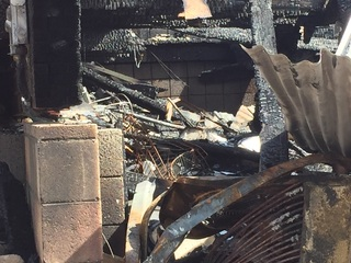 Pregnant woman recovering after Cave Creek fire